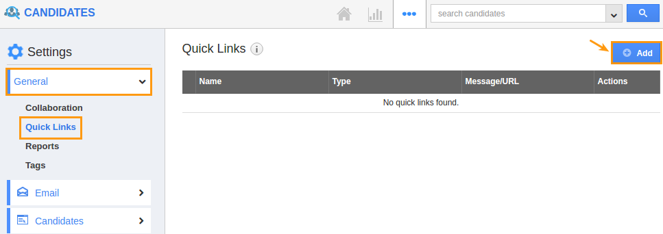 general-quick-links