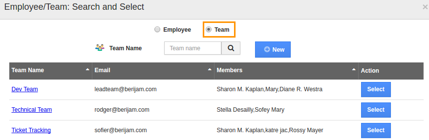 search-team