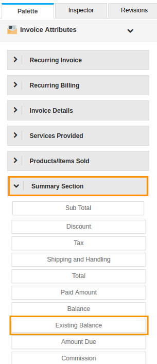 Customize An Invoice Pdf Template To Show Existing Balance
