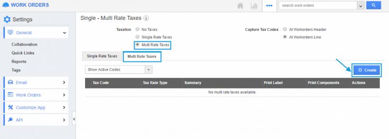 multi rate tax