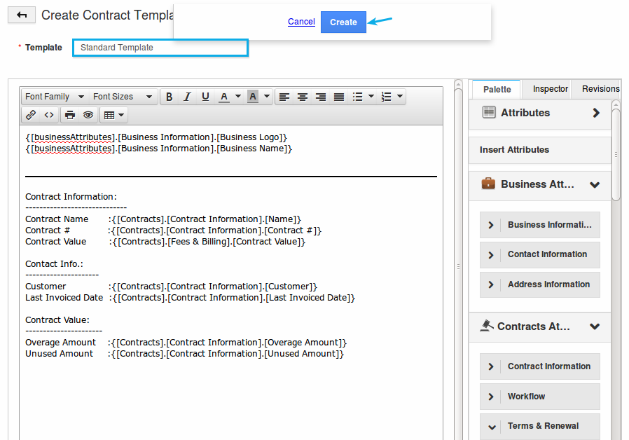 How do I Customize the PDF Templates in the Contracts App? | Apptivo FAQ