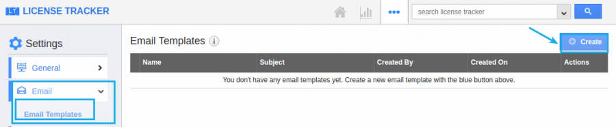 click email template