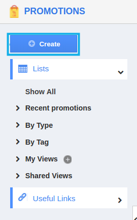 create promotions