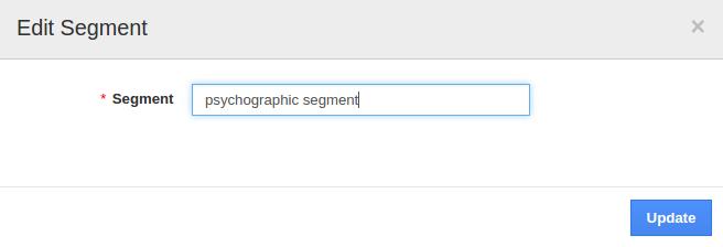 edit segment