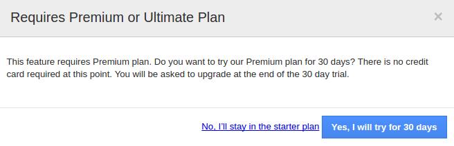 plan upgrade