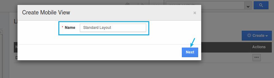enter layout name