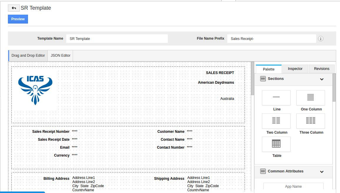 Create Pdf Templates For Sales Receipts