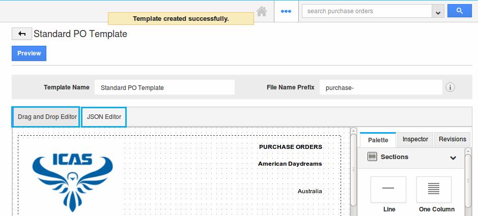 How do I create PDF templates in purchase orders app? | Apptivo FAQ