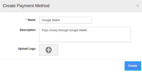 create payment method