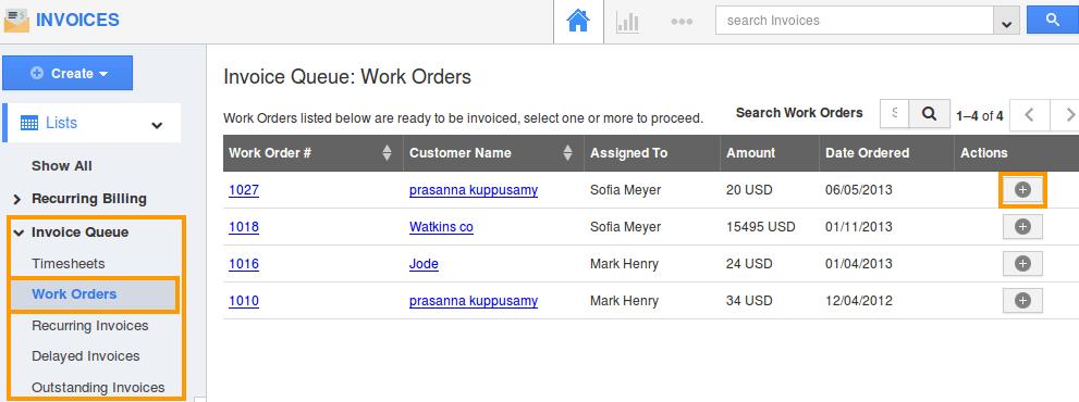 workorder