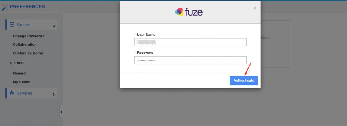 fuze credentials