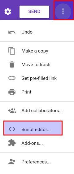 click script editor