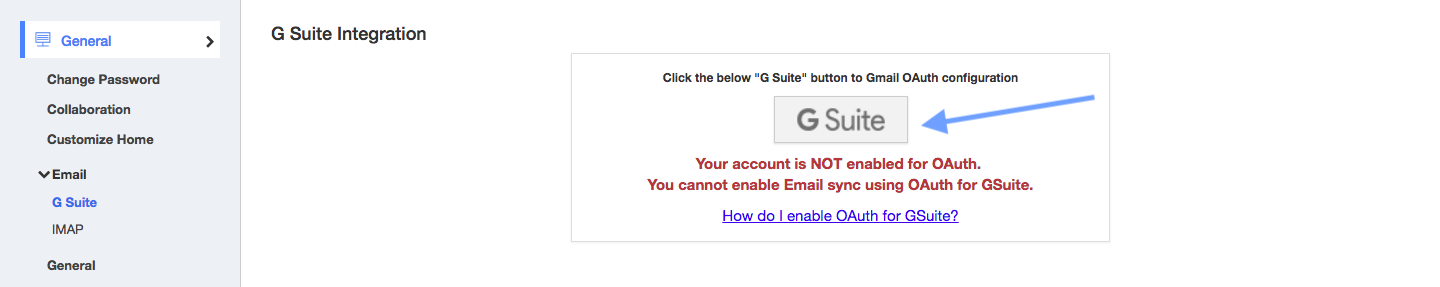 How can I sync G Suite emails in Apptivo? | Gmail