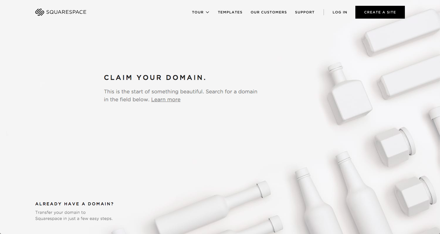 best-5-landing-page-Squarespace