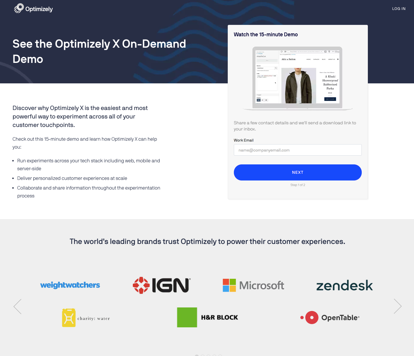 best-5-landing-page-optimizely