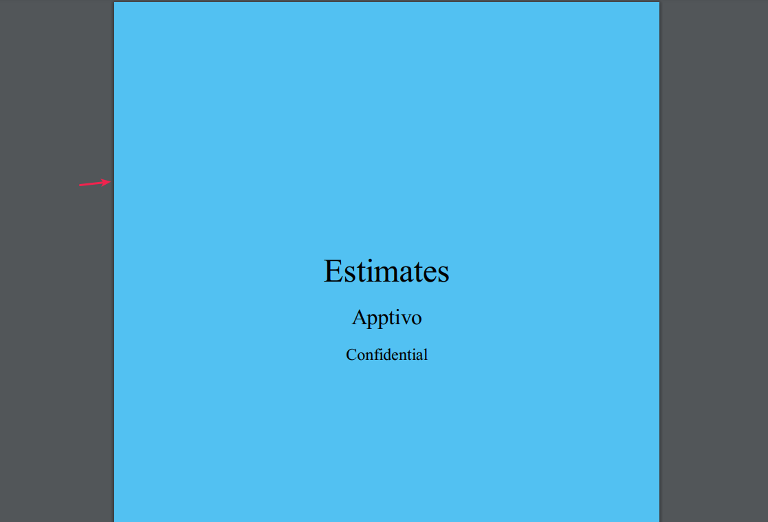 view estimates pdf background