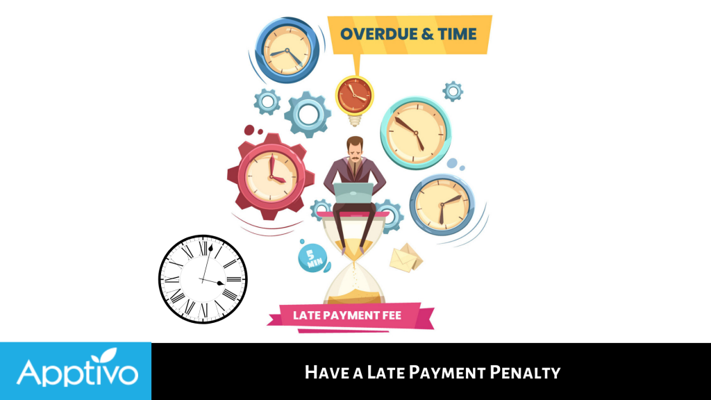 Have a Late Payment Penalty