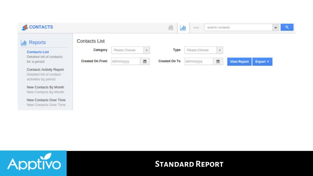 Standard Report