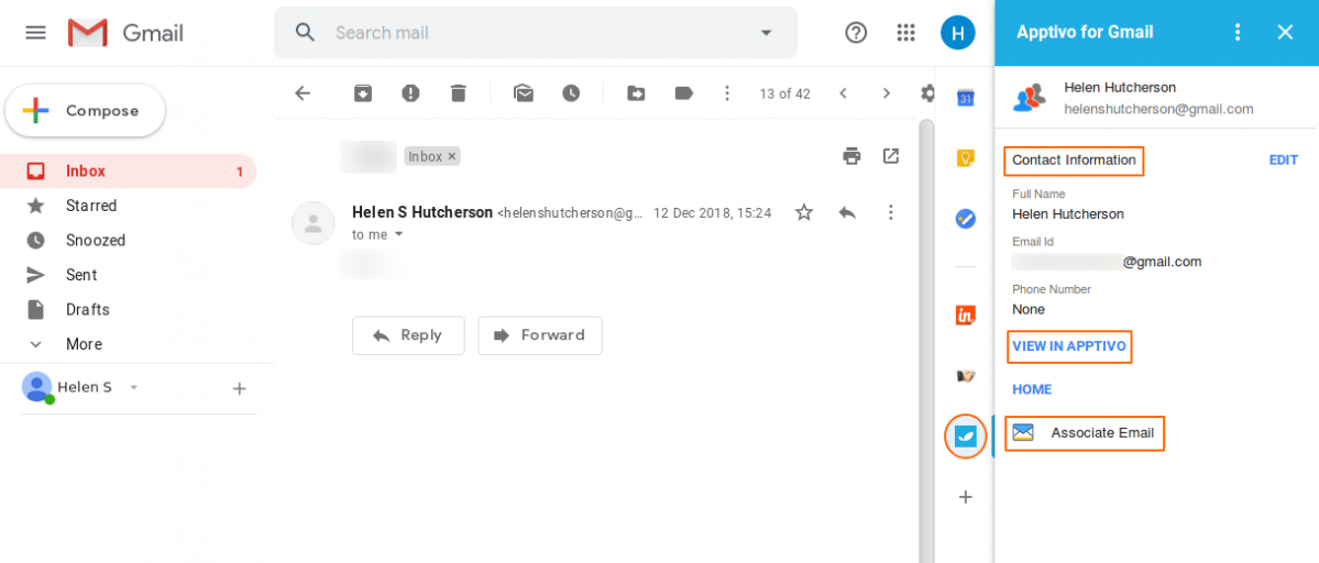 Associate Email