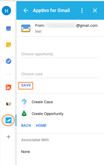 Create Case and Opportunity<br />
