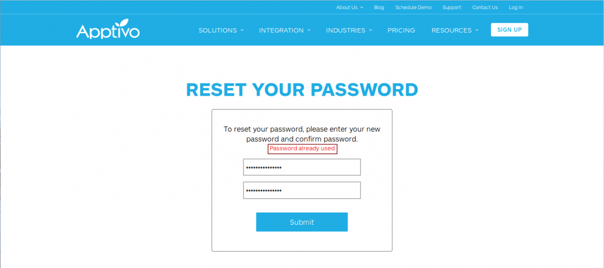 Password History