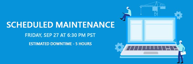 Maintenance updates