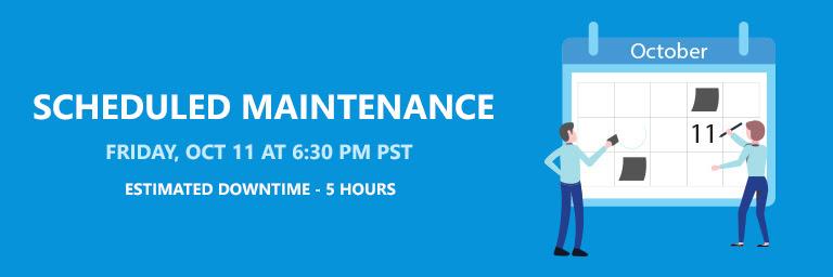 Rescheduled Maintenance