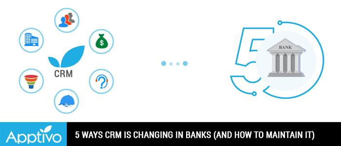 CRM changing Banks