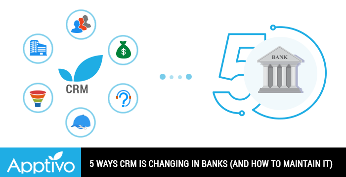 CRM is changing in Banks