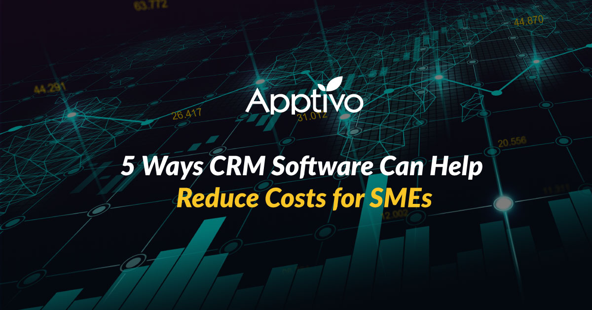5 Ways CRM Software Can Help Reduce Costs for SMEs