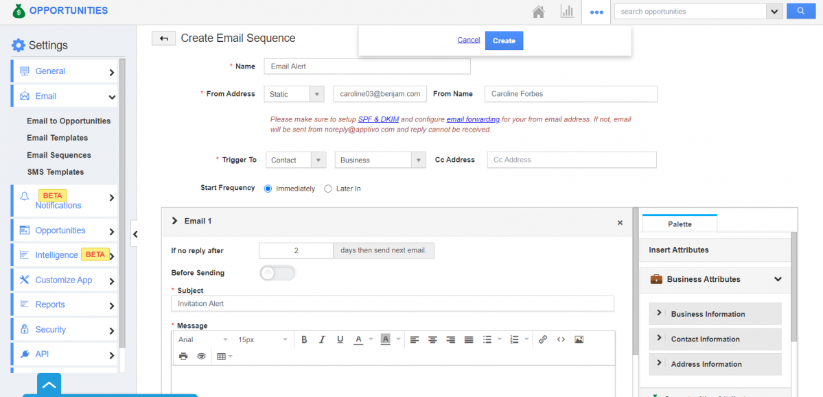 Email Sequence