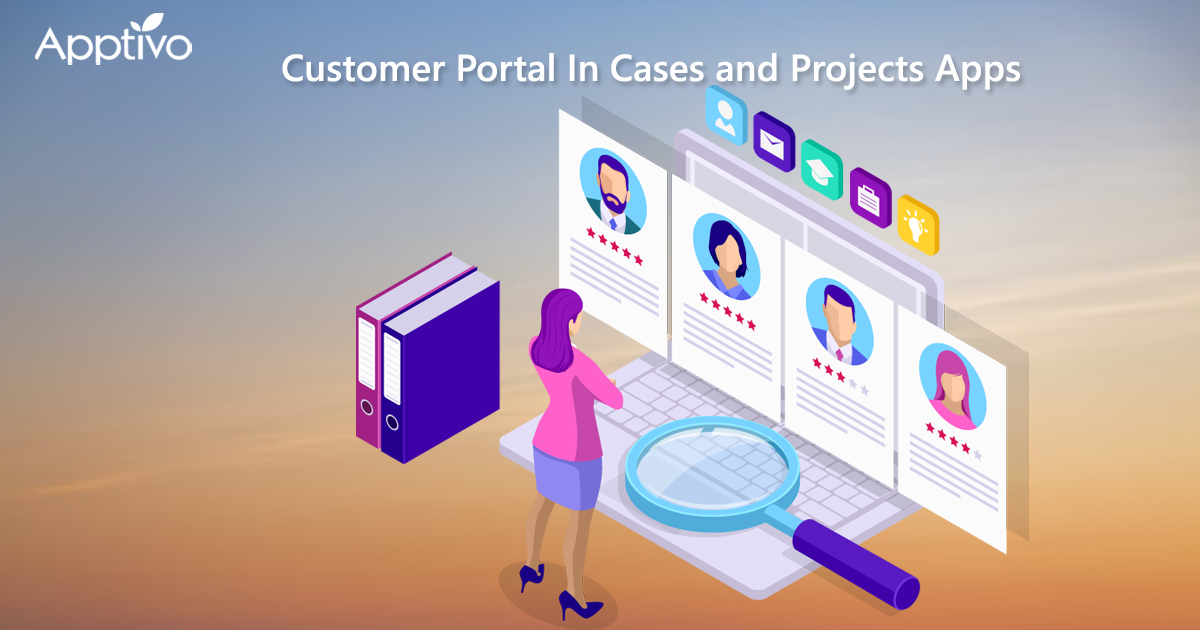 Customer Portal In Cases And Projects Apps