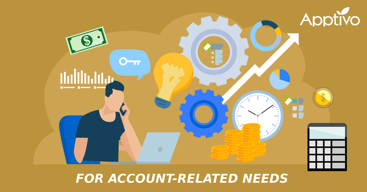 For Account-Related Needs