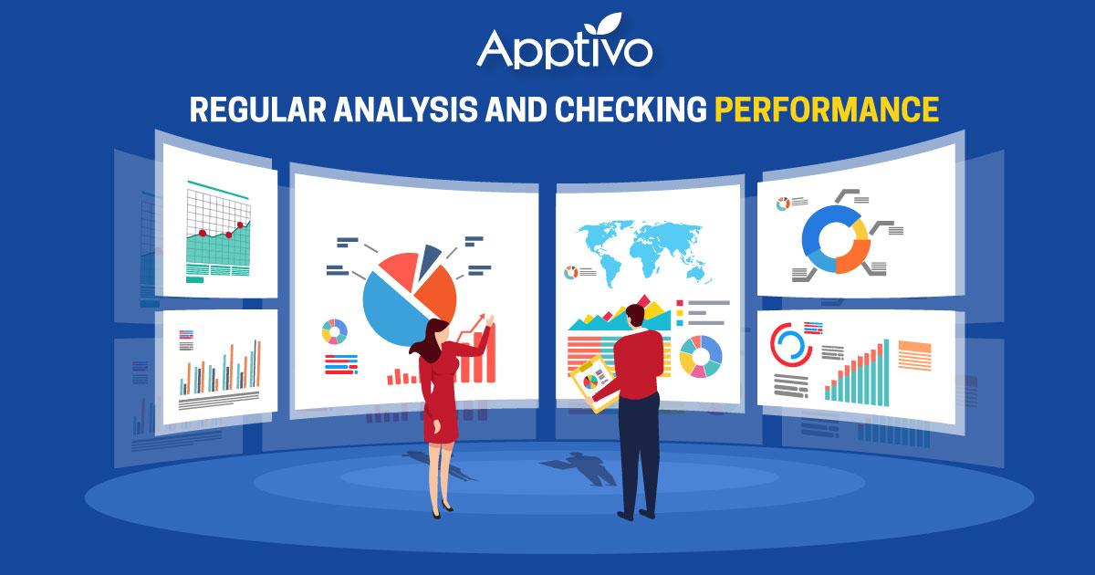 Regular analysis and checking performance