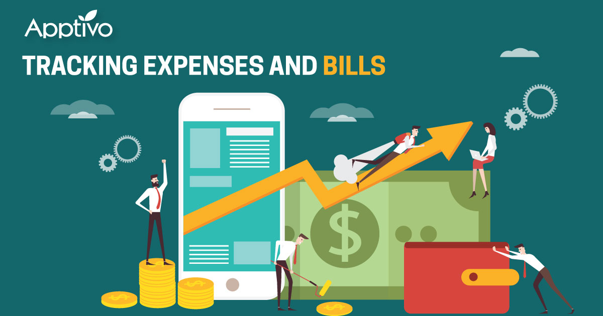 Tracking expenses and bills