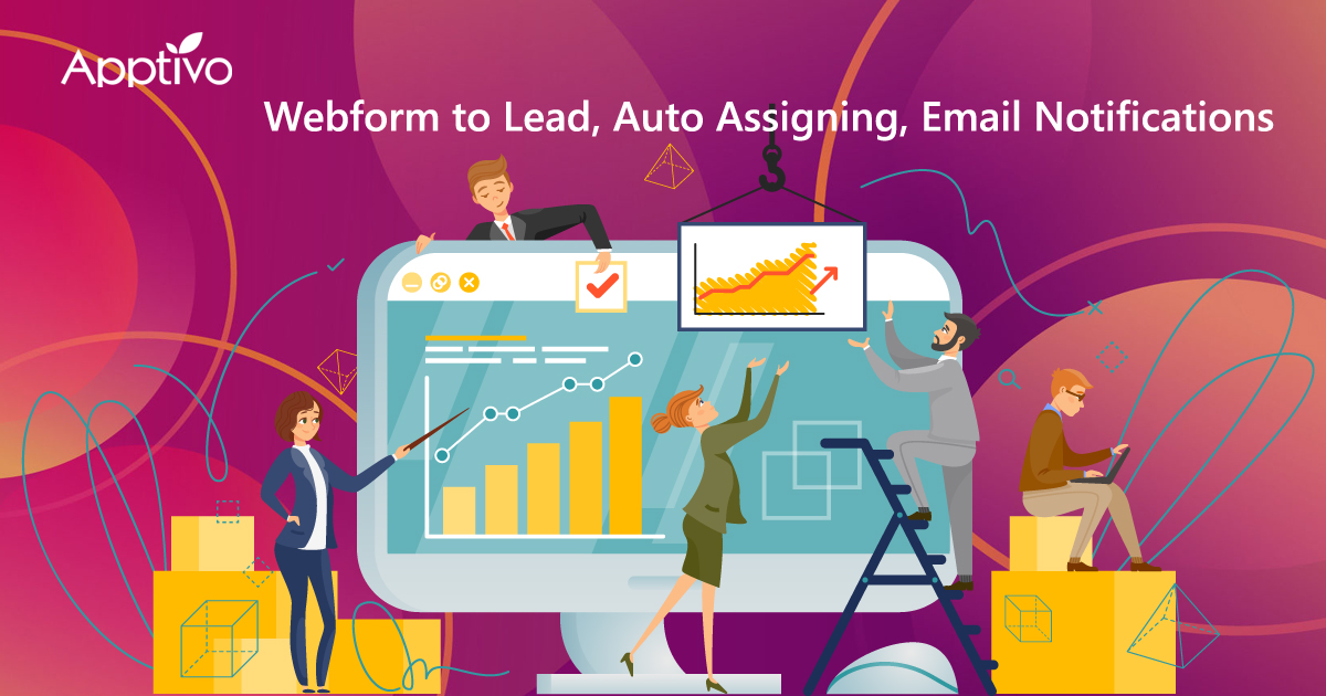 Webform to Lead, Auto Assigning, Email Notifications