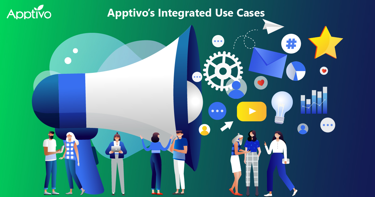 Apptivo's Integrated Use Cases