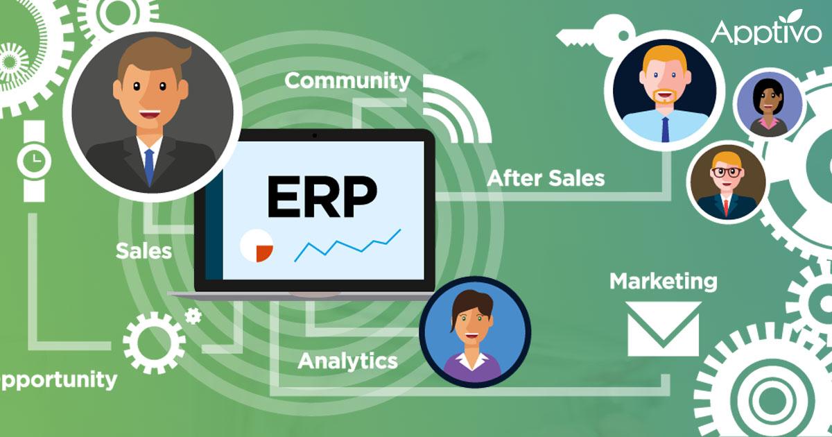 How Does Apptivo Establish ERP