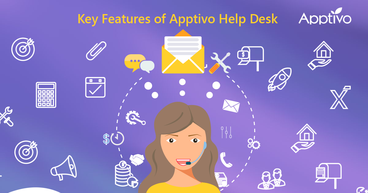 Key Features of Apptivo Help Desk