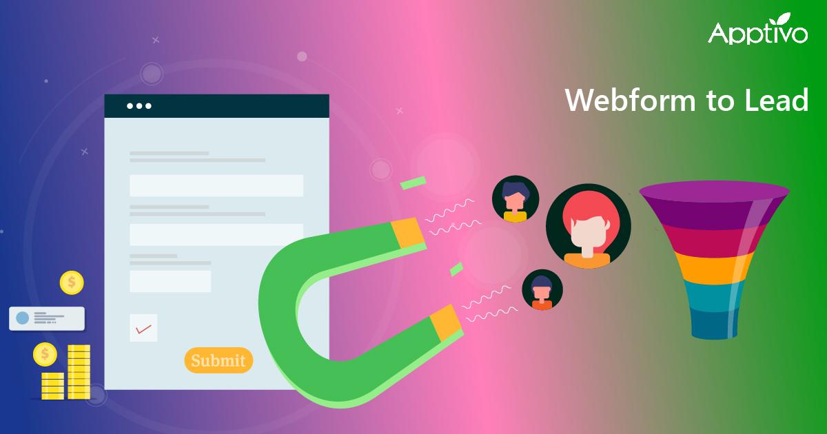 Webform to Lead