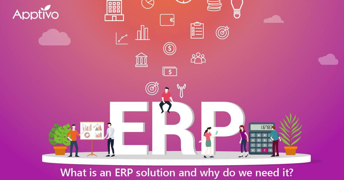 What is an ERP solution and why do we need it