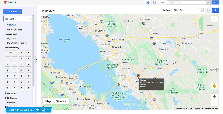 Google Map Check Pin Customization