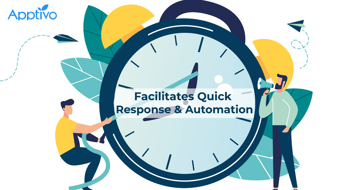 Facilitates Quick Response & Automation