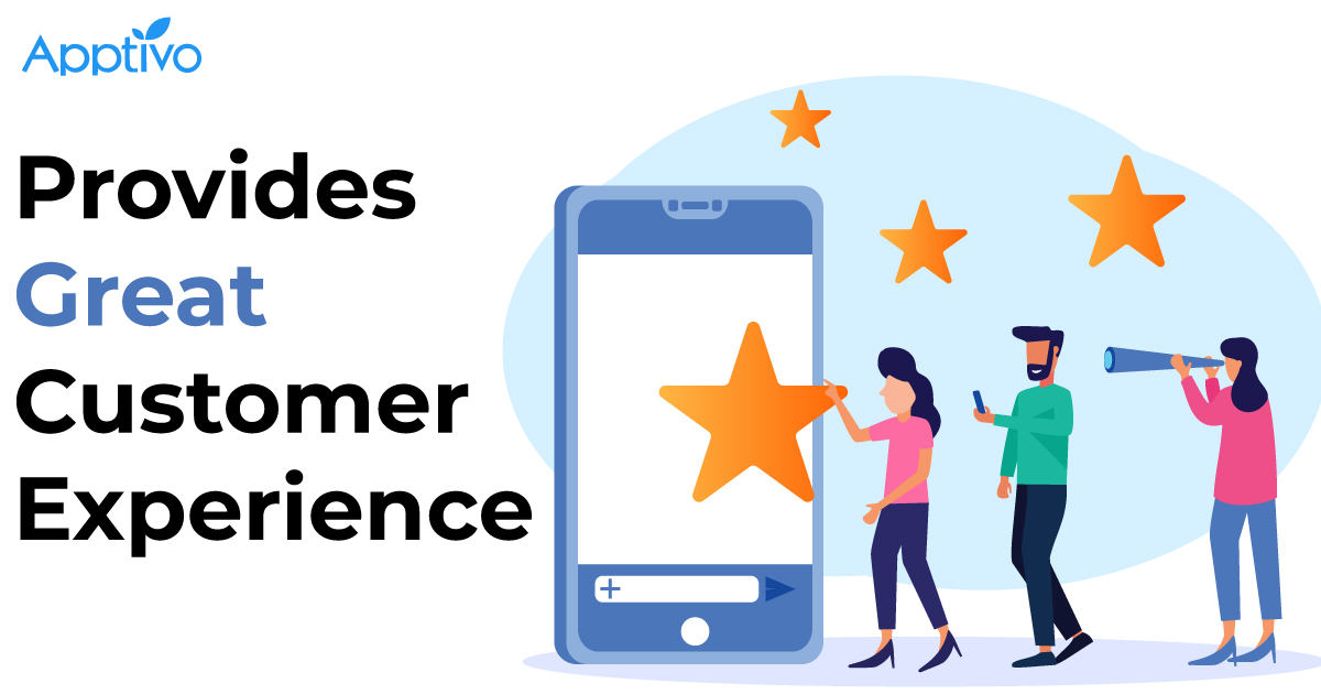 Provides Great Customer Experience