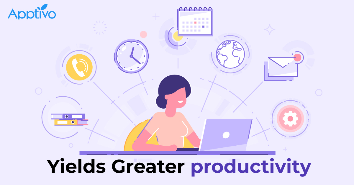 Yields Greater Productivity