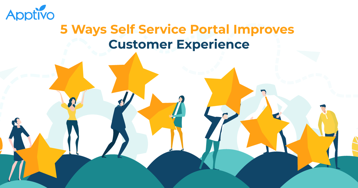 5 Ways Self Service Portal Improves Customer Experience
