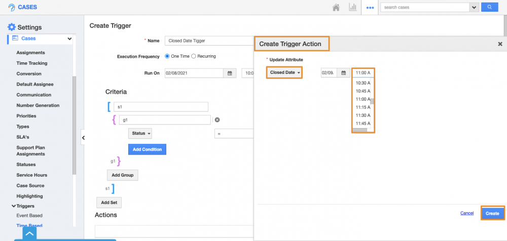 Supported Date & Time field update in Triggers