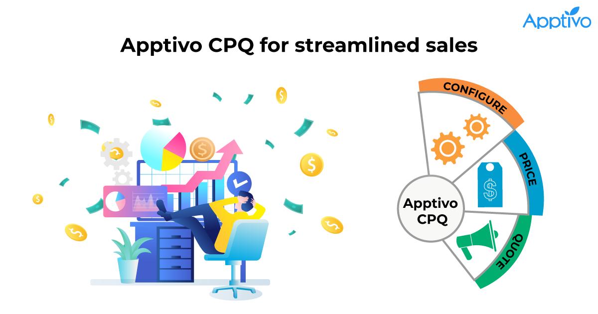 Apptivo CPQ for streamlined sales