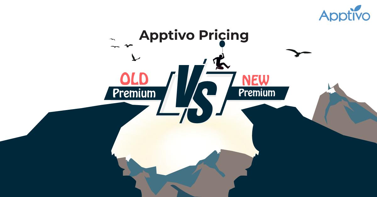 Apptivo Pricing - Old Premium Vs New Premium