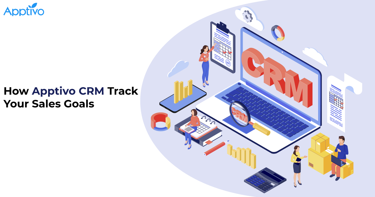 How Apptivo CRM Track Your Sales Goals